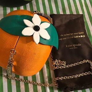 Kate Spade Orange Straw  SpiceItUp crossbody bag